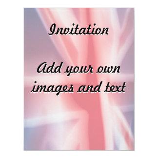 Fuzzy Union Jack Card