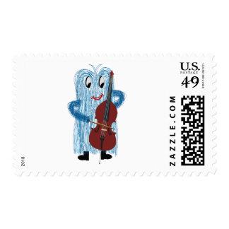 FuzzyBassPlayer Postage Stamp