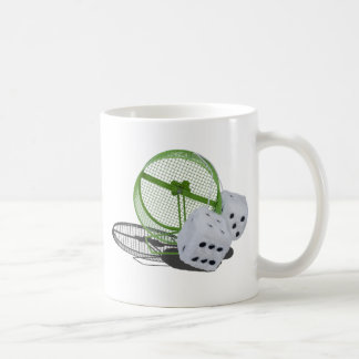FuzzyDiceOnExerciseWheel030313.png Coffee Mug