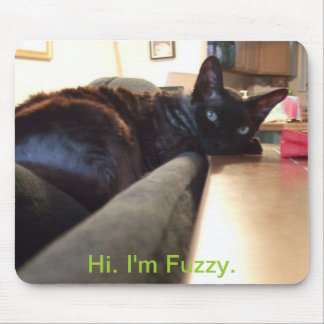 Fuzzy's mousepad