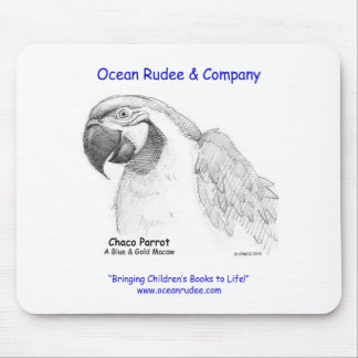 FV - Check it out!  Chaco Parrot on a Mouse Pad