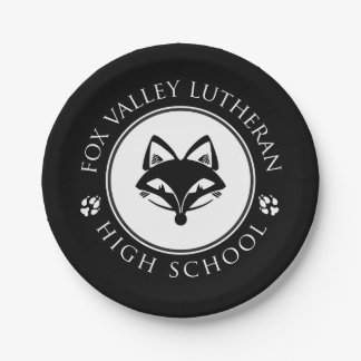 FVL Foxes Paper Plate