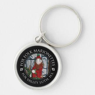 FVLHS Jester Marionette Keychain
