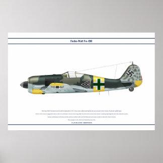 Fw-190 A-6 JG54 2 Print