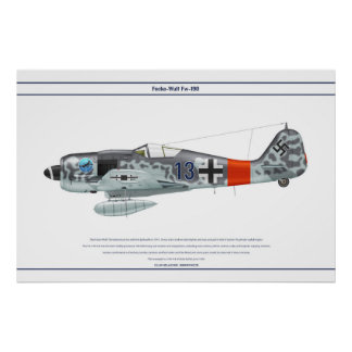 Fw-190 A-8 JG300 2 Print