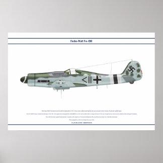 Fw-190 D-9 JG4 2 Posters