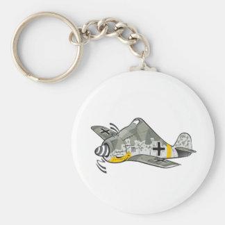 fw-190 focke wolf keychain