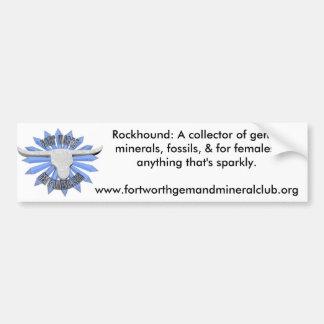 FWGMC RockHound Definition Bumper Sticker