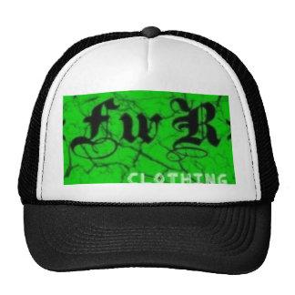 «FwR» clothing hat (black)