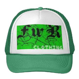 «FwR» clothing hat (green)