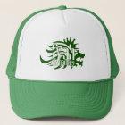 Fyah Gansey Crown Trucker Hat