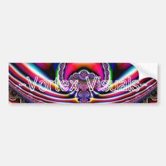 Fygusplus, -Vortex Visuals- Bumper Stickers