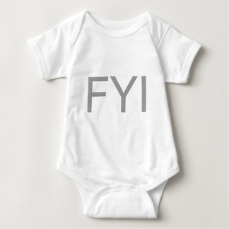 FYI BABY BODYSUIT