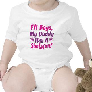 FYI Boys My Daddy Has A Shotgun Baby Creeper