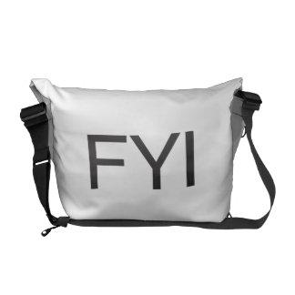 FYI MESSENGER BAGS