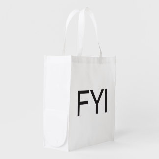 FYI GROCERY BAGS