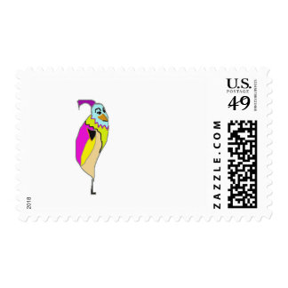 Fynde character from cartoon animation TheCrils Postage Stamps