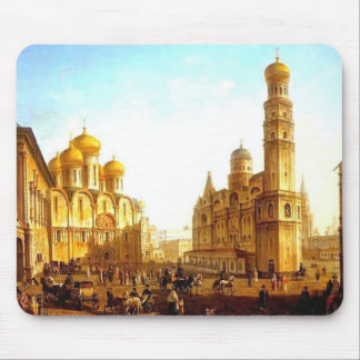 Fyodor Alekseyev:Cathedral Square,Moscow Kremlin Mouse Pad