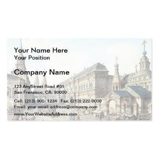 Fyodor Alekseyev- North side of Red Square Business Cards