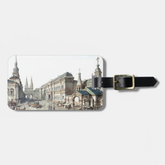 Fyodor Alekseyev- North side of Red Square Luggage Tags