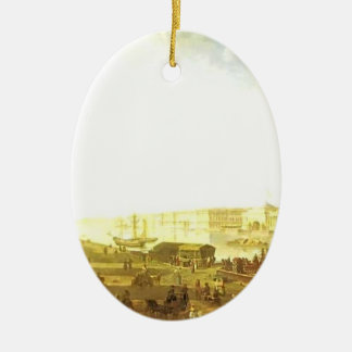 Fyodor Alekseyev-The Admiralty & the Winter Palace Christmas Tree Ornament