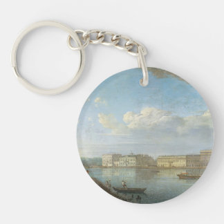Fyodor Alekseyev- View of the Palace Embankment Acrylic Key Chains