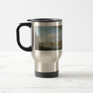 Fyodor Alekseyev- View of the Palace Embankment Travel Mug
