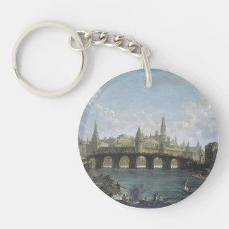 Fyodor Alekseyev: Vista del Kremlin y del puente d Llavero