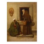 Fyodor Bronnikov- el monje y el mendigo Postales
