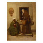 Fyodor Bronnikov- The monk and the beggar Post Cards