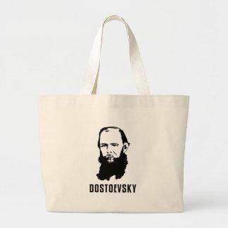 Fyodor Dosoevsky Large Tote Bag