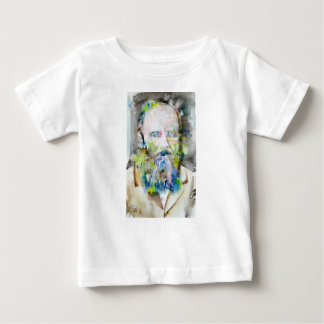 fyodor dostoevsky - watercolor portrait baby T-Shirt