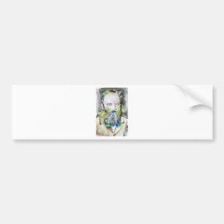 fyodor dostoevsky - watercolor portrait bumper sticker