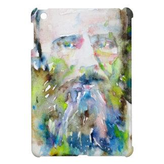 fyodor dostoevsky - watercolor portrait cover for the iPad mini