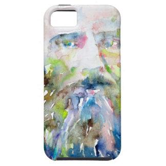 fyodor dostoevsky - watercolor portrait iPhone SE/5/5s case