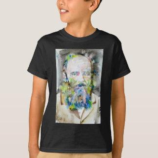 fyodor dostoevsky - watercolor portrait T-Shirt