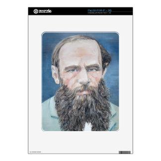 fyodor dostoyevsky - oil portrait iPad skins