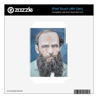 fyodor dostoyevsky - oil portrait iPod touch 4G decals