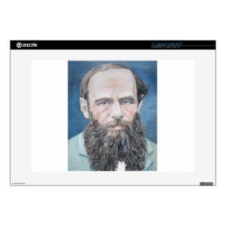 """fyodor dostoyevsky - oil portrait skin for 15"""" laptop"""