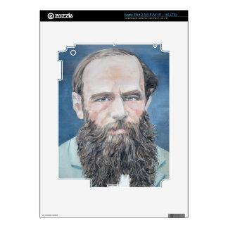 fyodor dostoyevsky - oil portrait skins for iPad 3
