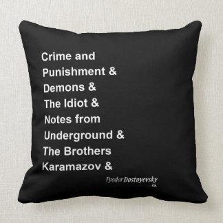 Fyodor Dostoyevsky Pillows