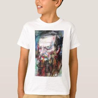FYODOR DOSTOYEVSKY - watercolor portrait.2 T-Shirt