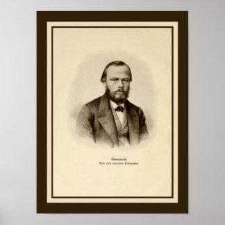 """Fyodor Mikhailovich Dostoyevsky 12"""" x 16"""" Poster"""