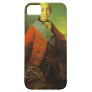 Fyodor Rokotov- Portrait of Great Duke Peter iPhone 5 Covers