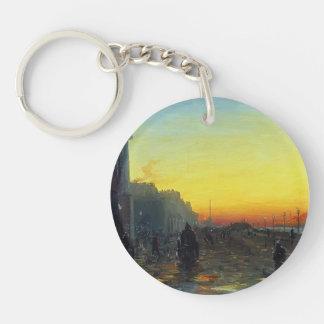 Fyodor Vasilyev- Dawn in St. Petersburg Acrylic Key Chains