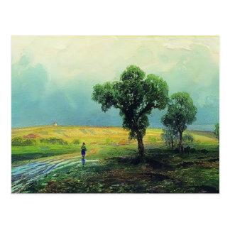 Fyodor Vasilyev- después de fuertes lluvias Postales