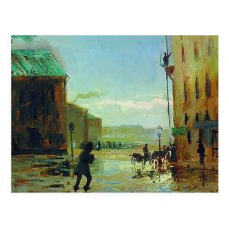 Fyodor Vasilyev- después de una lluvia Tarjetas Postales