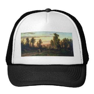 Fyodor Vasilyev- Evening Mesh Hats