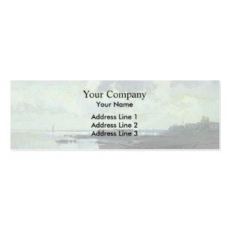 Fyodor Vasilyev- The Shore Cloudy Day Business Card