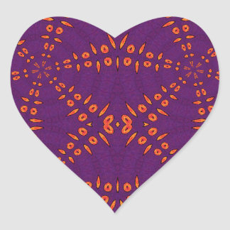 Fyre Trybe Heart Sticker